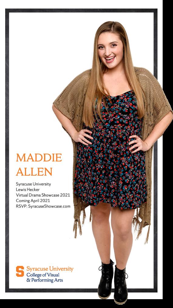 Maddie Allen calendar photo